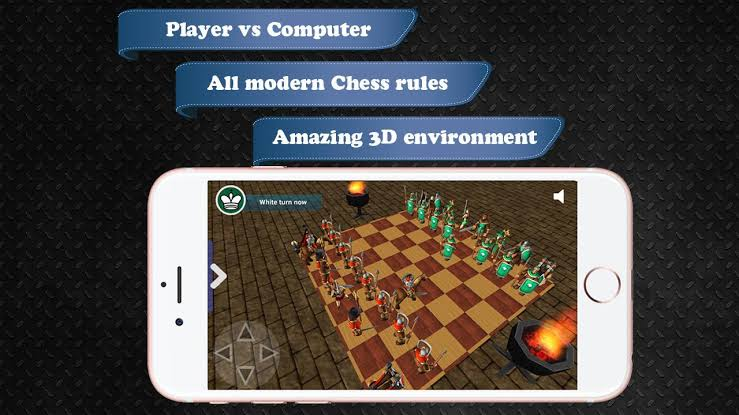 Image result for Chess Battle War 3D 1.14 APK""