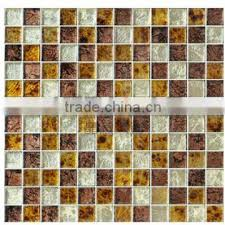 glass mosaic tiles gold leaf glass