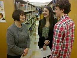 """NS Education and Early Childhood Development on Twitter: """"Minister Jennex  speaks with #HalifaxWest students Hilary Beck and Matthew Poole at the  Cyber-Safety Act introduction. http://t.co/UgelZTlaYf"""""""