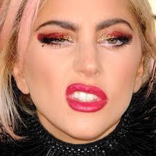 lady a makeup black eyeshadow gold