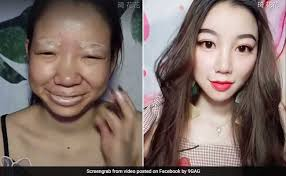viral makeup video transformation will