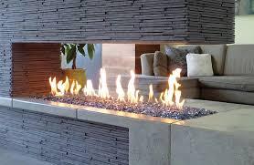outdoor fire grate 1307mm gas fire