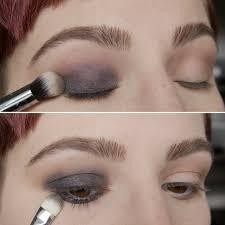 quick eye makeup tutorial night look