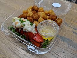 tater tots from Lobster and Beer ...