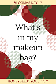 mas day 17 what s in my makeup bag