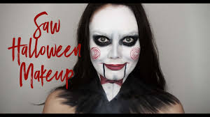 billy the puppet saw makeup