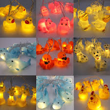 New Korean Led Night Light 1 5m Animal Lamp String Kids Room Decoration Giraffe Shark Octopus Hippo Dog Lighting Aa Led Night Lights Aliexpress