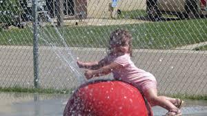 Families enjoy spray park – Rimbey Review