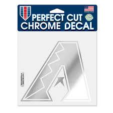 Arizona Diamondbacks Wincraft 6 X 6 Chrome Decal