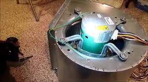 evergreen ecm er motor install on a