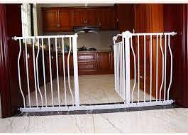 Expandable Baby Gates For Stairs Fence Pet Fence Pole Baby Gate Wall Protector Free Punching Self Closing Color High77cm Size 132 142cm Amazon Ca Home Kitchen