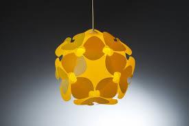 kid room yellow ceiling light