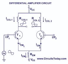 diffeial amplifier circuit tutorial