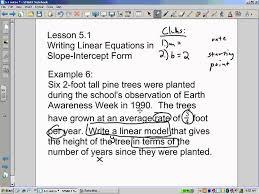 slope intercept word problems you
