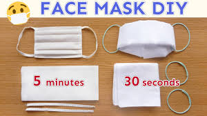 DIY FACE MASK | No Sew