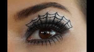 how to do spider web eye make up