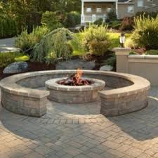 patio and fire pit pavers pro edge