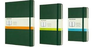 MOLESKINE CLASSIC NOTEBOOK | Myrtle Green Hard Cover | All Sizes ...