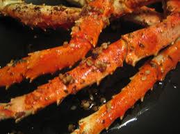 Crabs - Garlic Butter Baked Crab Legs ...