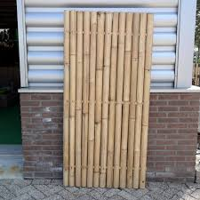 Home Interiors Gorgeous Bamboo Fencing At Bunnings Also Bamboo Fencing Apartment Balcony From Choose Bamboo Fence For Yo Porton Rustico Muros Diseno De Jardin
