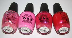 OPI Vintage Minnie Mouse Collection Nail Polish Swatches and ...