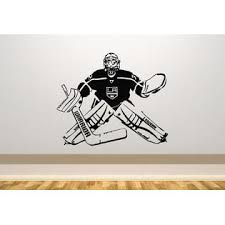 Juststickit Jonathan Quick Los Angeles Kings Ice Hockey Wall Art Decal Sticker Picture