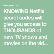 knowing secret codes will give