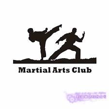 Boxing Club Taekwondo Karate Sticker Kick Play Car Decal Free Combat Posters Vinyl Striker Wall Decals Decor Wall Stickers Aliexpress