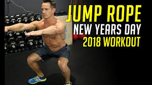 new years 2018 bodyweight workout no