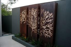 Outdoor Art Panels Google Search Palissade Jardin Terrasse Jardin Amenagement Paysager