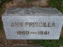Ann Priscilla Murphy Bussard (1860-1941) - Find A Grave Memorial