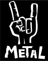 Heavy Metal Hand Rocker Decal Sign Of The Horns Car Truck Window Vinyl Sticker Ebay