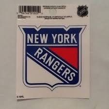 Shop Ny Rangers Static Cling Sticker Decal Window Or Car Overstock 23062630