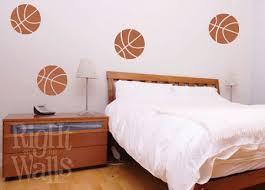 Basketball Shapes Sports Kids Wall Decals Vinyl Art Stickers