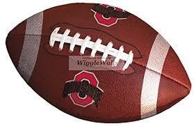 9 Inch Football Logo Osu Ohio State Univ Buy Online In Albania At Desertcart
