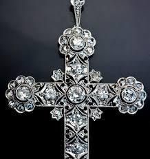 edwardian jewelry openwork diamond