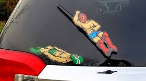 Luchador Wrestling Windshield Wiper Tags Dudeiwantthat Com