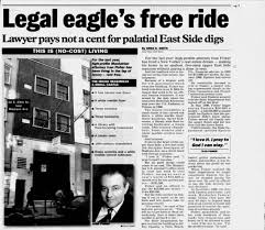 Epstein E. 69th Street NY mansion and Attorney Ivan Fisher - Newspapers.com