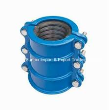 China 2 Pieces Saddle Dci Pipe Fittings Universal Dual Clamp China Saddle En545 Coupling