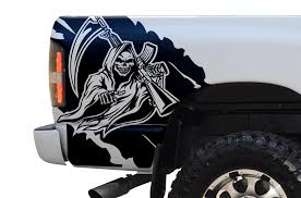 Dodge Ram 1500 2500 2002 2008 Custom Vinyl Decal Kit Reaper Factory Crafts