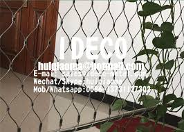 Stainless Steel Wire Rope Mesh X Tend Green Walls Decorative Cable Net Garden Plant Trellis Bridge Fence