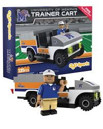 Trainer Cart Memphis Tigers Oyo Sports Minifigures Buildables