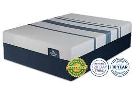 blue touch 300 firm mattress by serta
