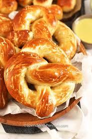 oven baked soft pretzels homemade