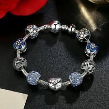 fashion jewelry 925 silver plated charm