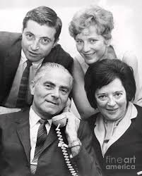 Mayor Abraham Beame and his family. 1965 Photograph by William Jacobellis