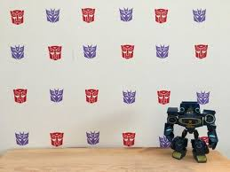 Transformer Wall Decals Vinyl Decal Wall Decals Etsy