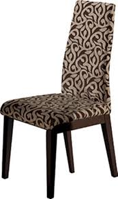 2 ESF European Ada Wood Fabric Dining Chairs   The Classy Home