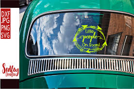 Little People On Board Car Decal Graphic By Sedley Designs Creative Fabrica