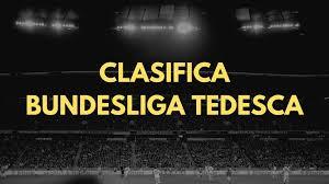 Le Teste di Calcio » Classifica della Bundesliga Tedesca di Calcio